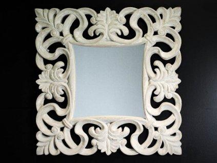 Zrkadlo Mouron cream 100x100 cm - Glamour Design 1