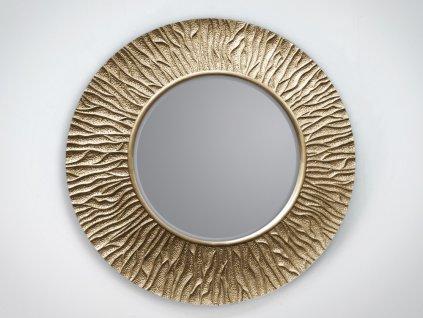 Zrkadlo Ismay champagne 100 x 100 cm - Glamour Design 1
