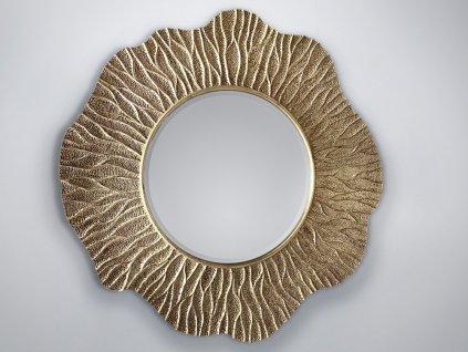 Zrkadlo Ismay champagne 110 x 110 cm - Glamour Design 1