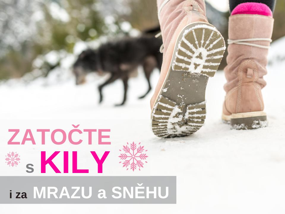 Jak se udržet v kondici během zimy. Zatočte s kily i za mrazu a sněhu