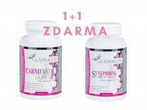 1+1 ZDARMA - SPALOVAČE TUKŮ CARNITINE + SYNEPHRINE