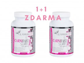 1 + 1 ZDARMA - SPALOVAČ TUKŮ CARNIFAST SUPER (L -Karnitin)