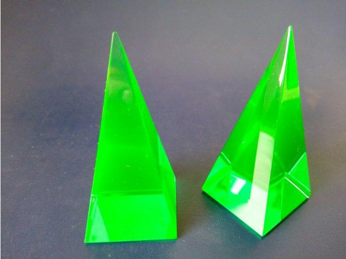 Pyramid 35x35x73 Green No.5081