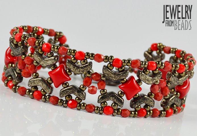 Karla Mokrošová - Jewelry from beads