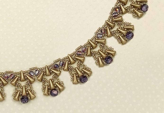 Aztec Gold Necklace