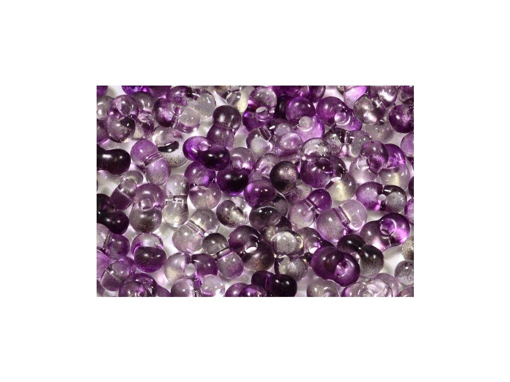 Farfalle 3x6,5 mm fialové (5D024)