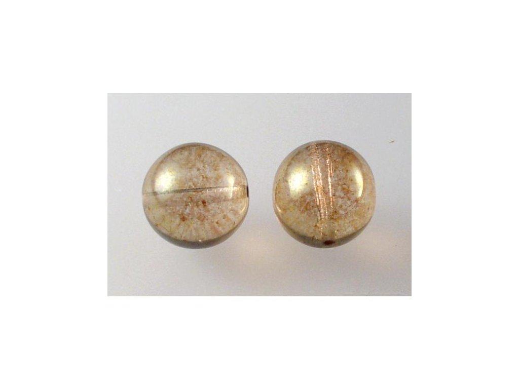 Mačkané kulaté korálky - 12 mm 00030/15495