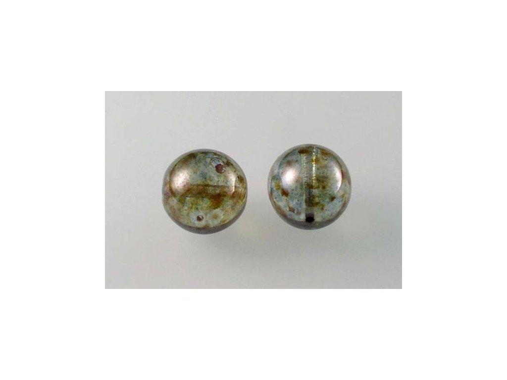 Mačkané kulaté korálky - 12 mm 00030/65431