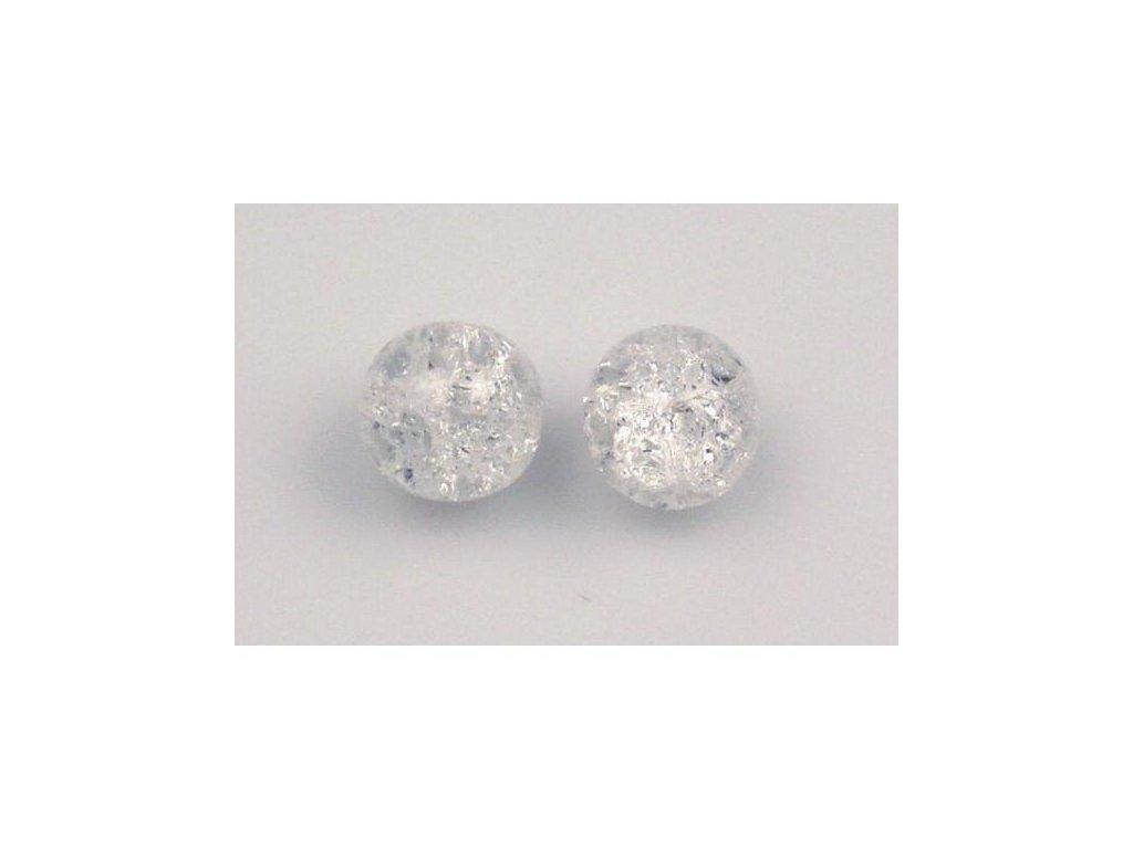 Práskané kulaté korálky - 12 mm 00030/85500