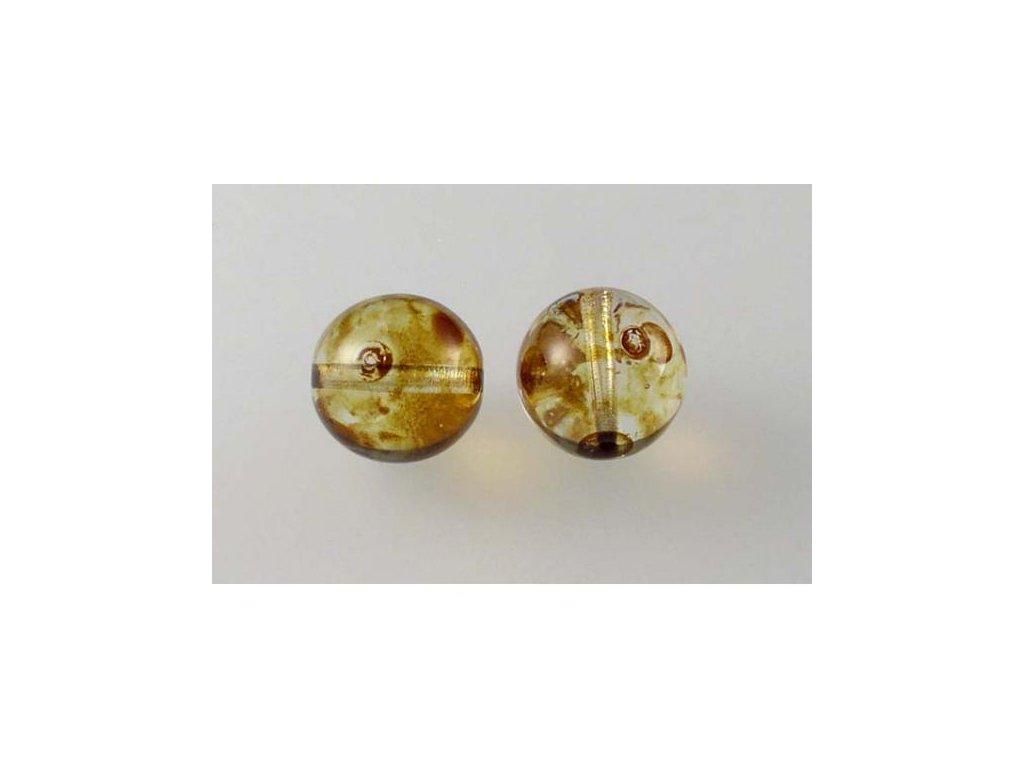 Mačkané kulaté korálky - 12 mm 00030/86800