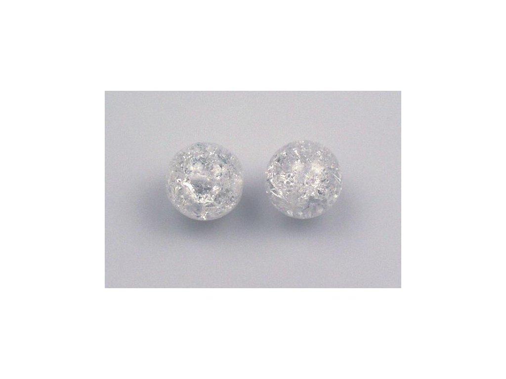 Práskané kulaté korálky - 14 mm 00030/85500