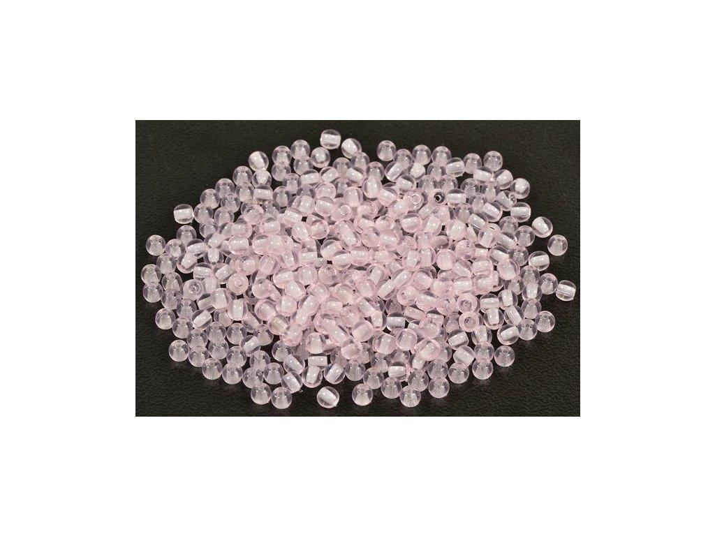 Mačkané kulaté korálky - 3 mm 70200