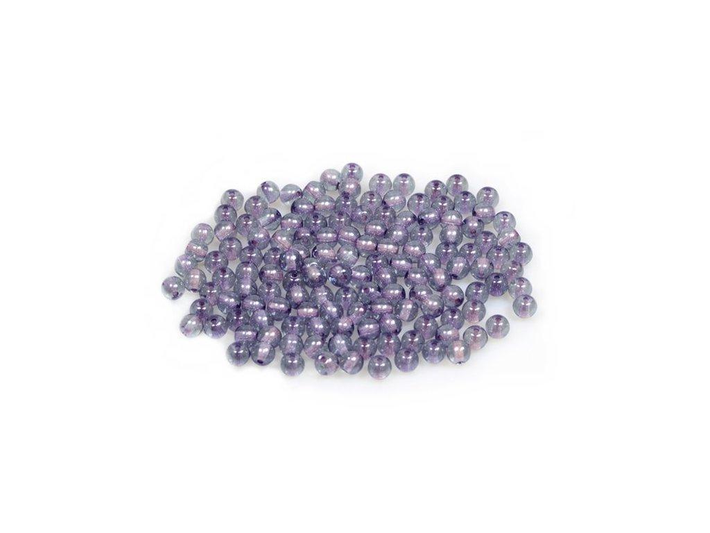 Mačkané kulaté korálky - 4 mm 00030/14464