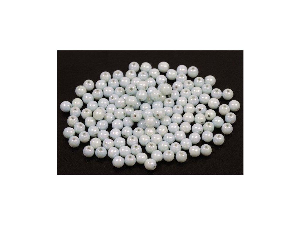 Mačkané kulaté korálky - 4 mm 03000/14457
