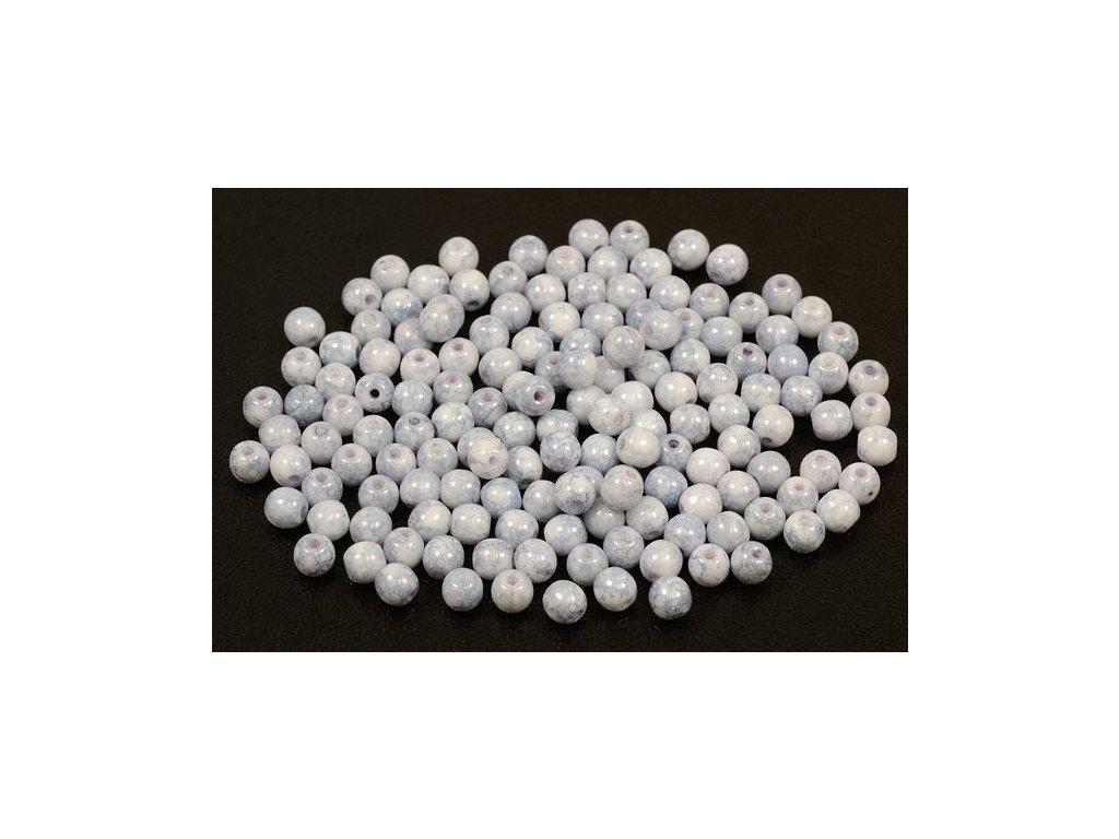 Mačkané kulaté korálky - 4 mm 03000/15464