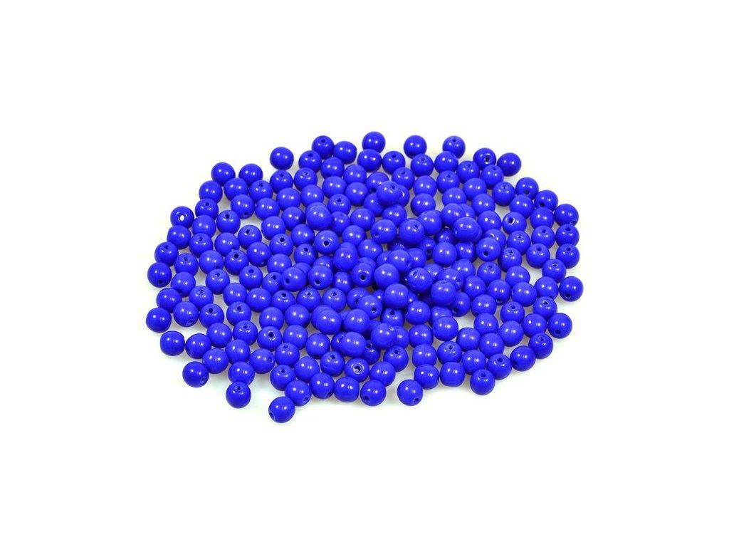 Mačkané kulaté korálky - 4 mm 33050