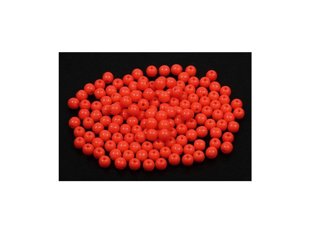 Mačkané kulaté korálky - 4 mm 93180