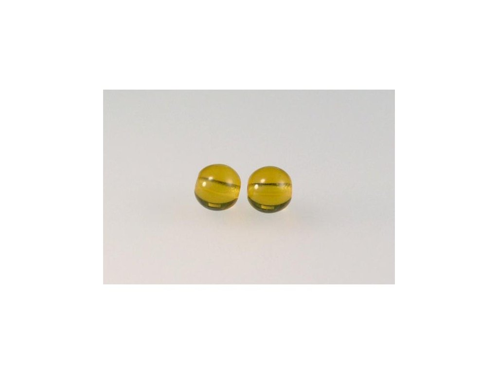 Mačkané kulaté korálky - 6 mm 10080