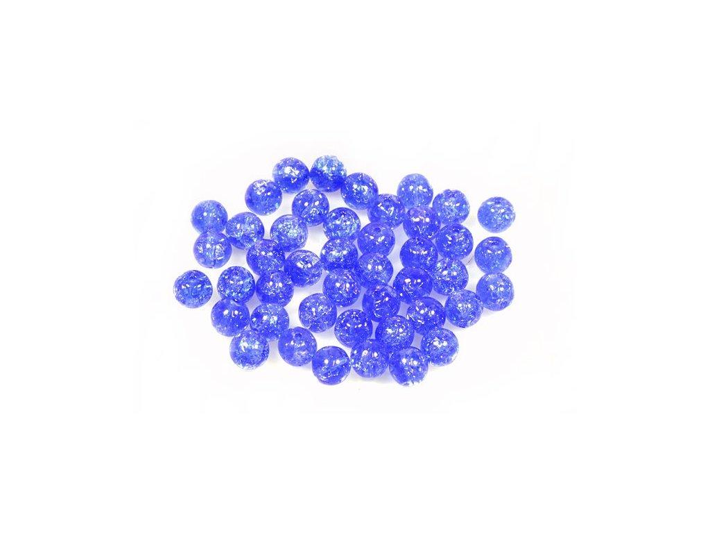 Práskané kulaté korálky - 6 mm 30050/85500