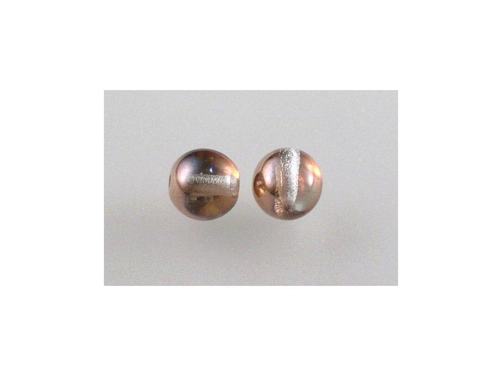 Mačkané kulaté korálky - 8 mm 00030/27101