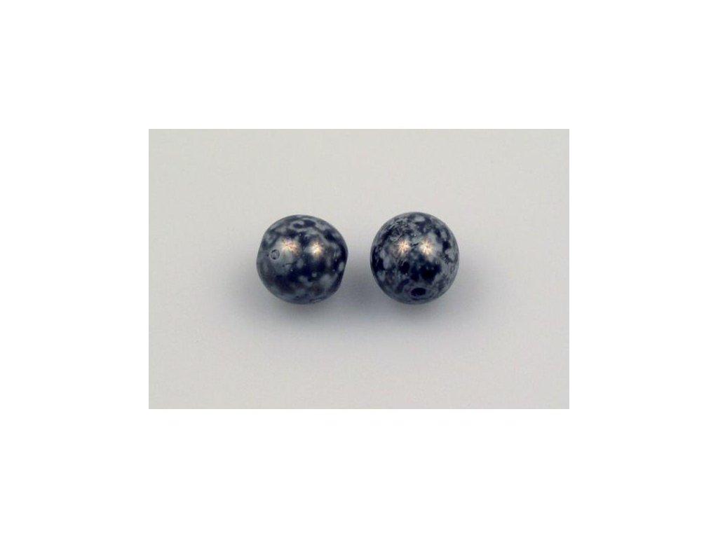 Mačkané kulaté korálky - 8 mm 03000/15427