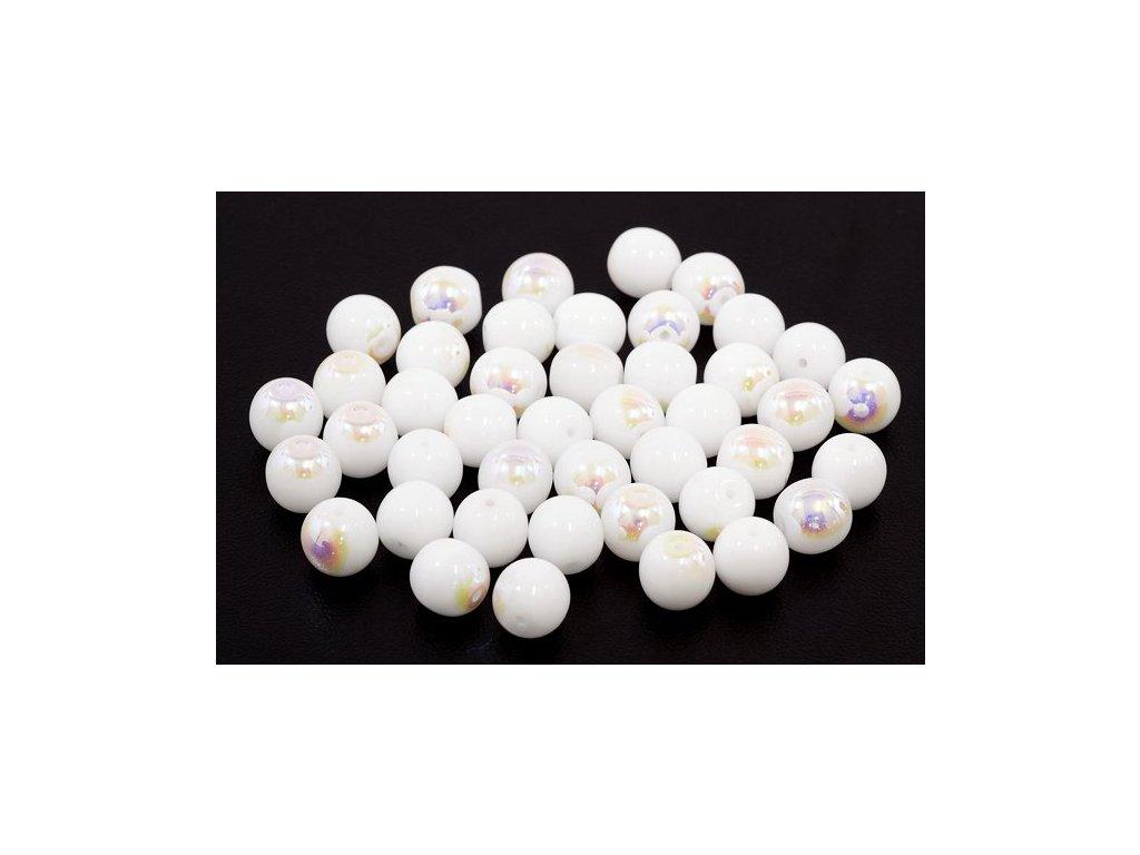 Mačkané kulaté korálky - 8 mm 03000/28701