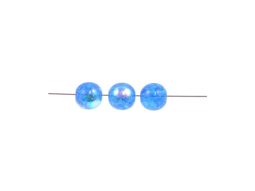 Práskané kulaté korálky - 8 mm 60020/85500/28701