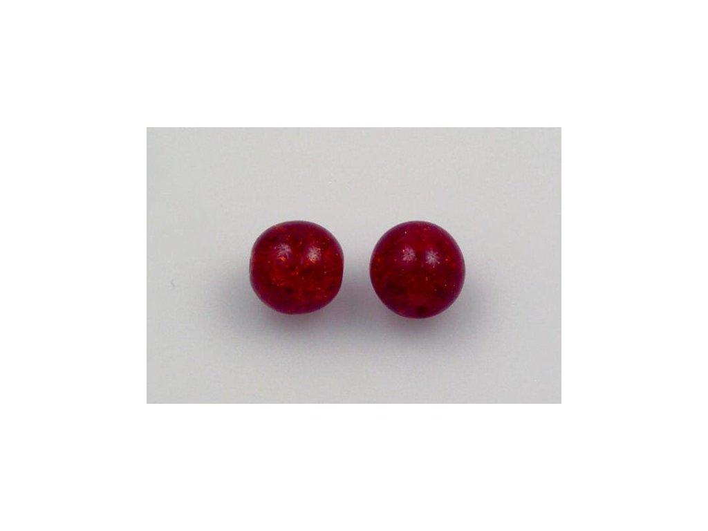 Práskané kulaté korálky - 8 mm 90080/85500