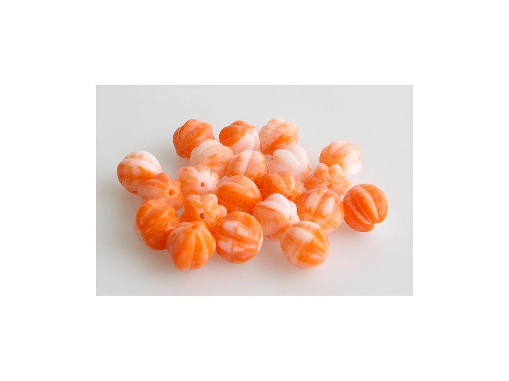 Melounky 11119201 10 mm oranžový mix