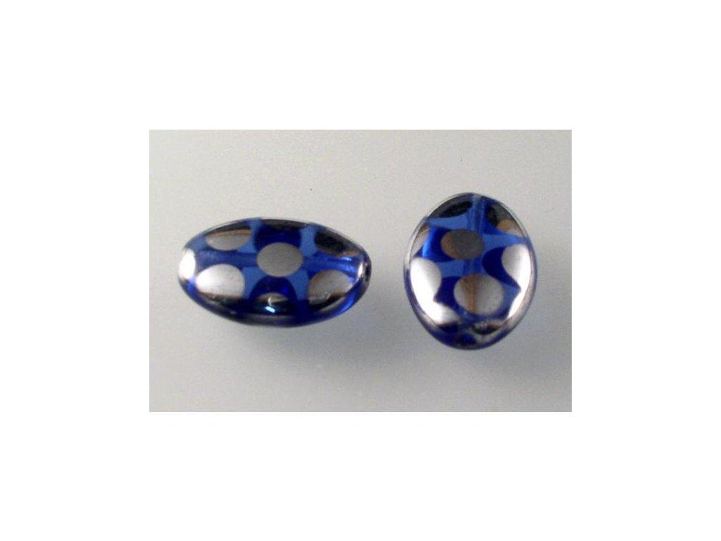 Mačkané korálky 11199006 16x11 mm 30050/27007