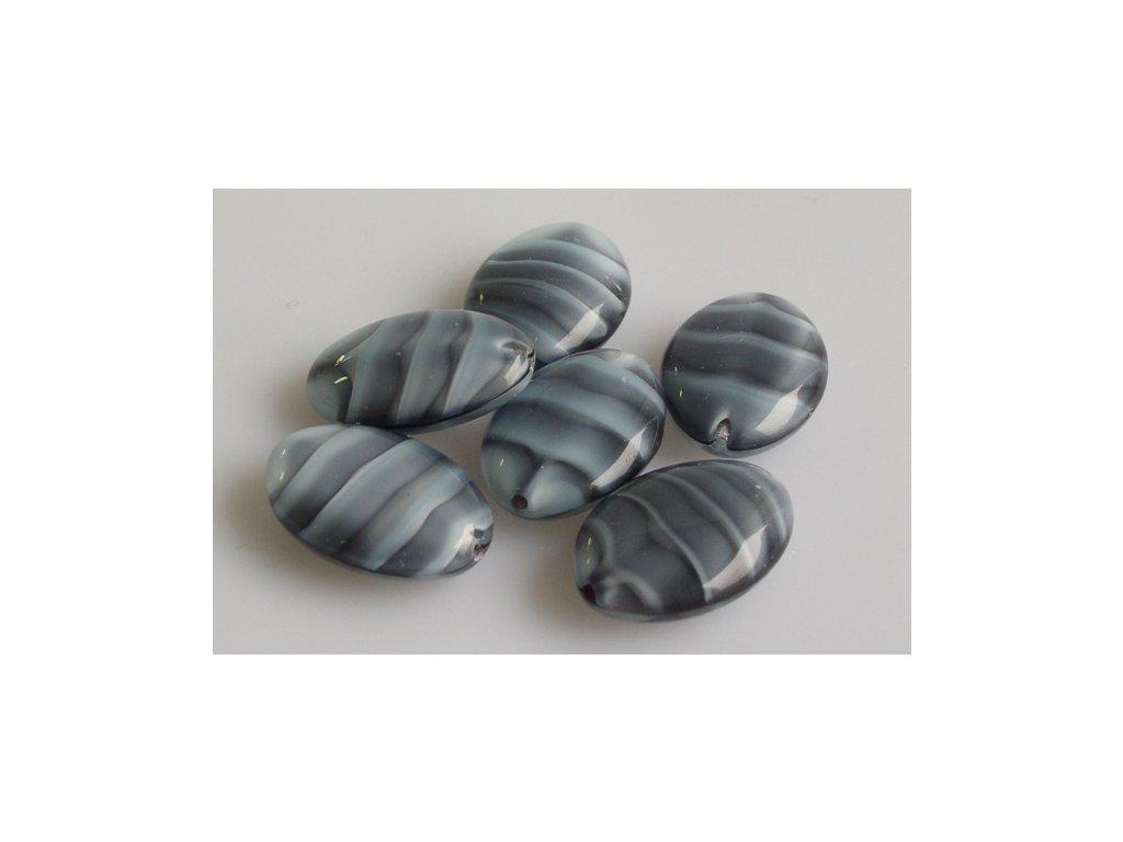 Mačkané korálky 11199006 20x14 mm 26607