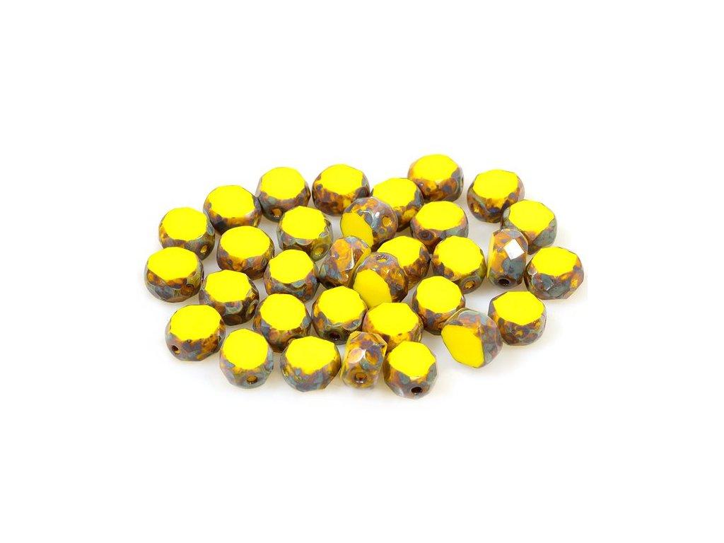 Broušené korálky tvarové 15101198 8 mm 83120/86800