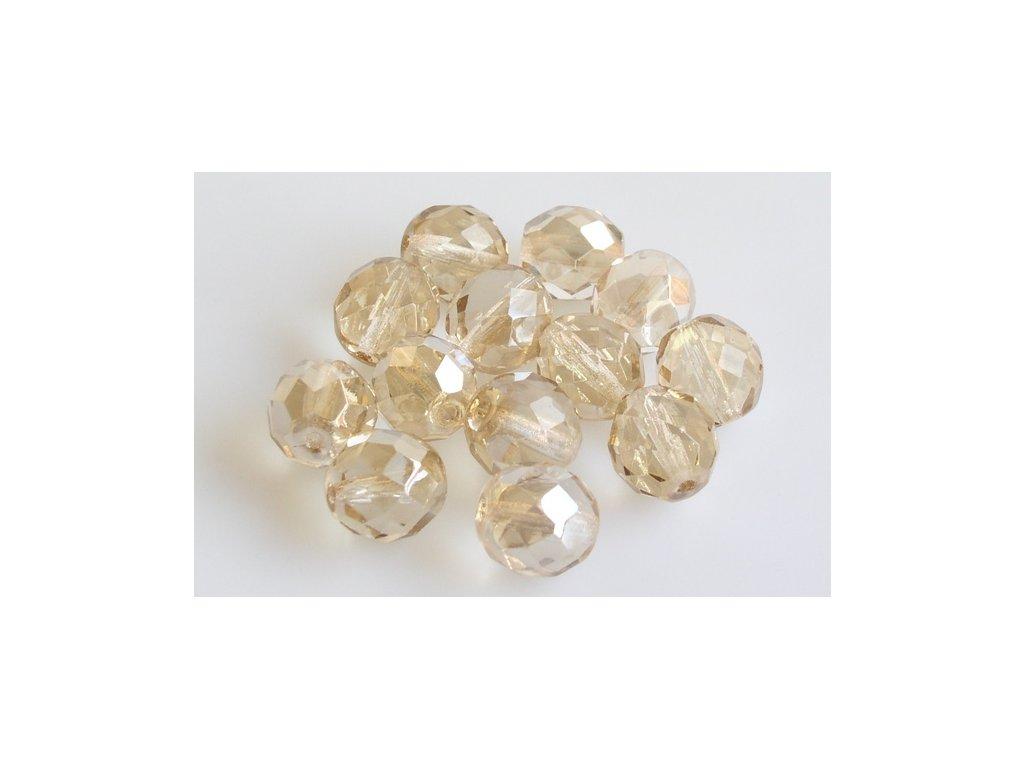 Broušené korálky - ohňovky 10 mm 00030/23502