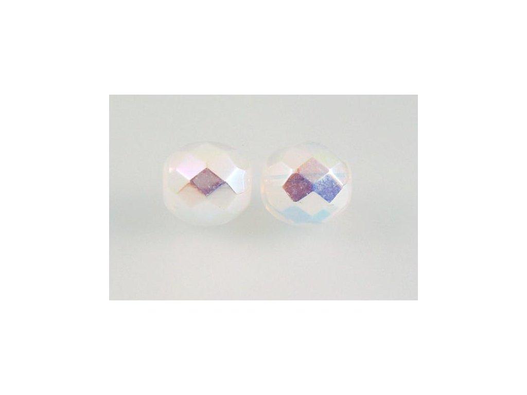 Broušené korálky - ohňovky 10 mm 01000/28701