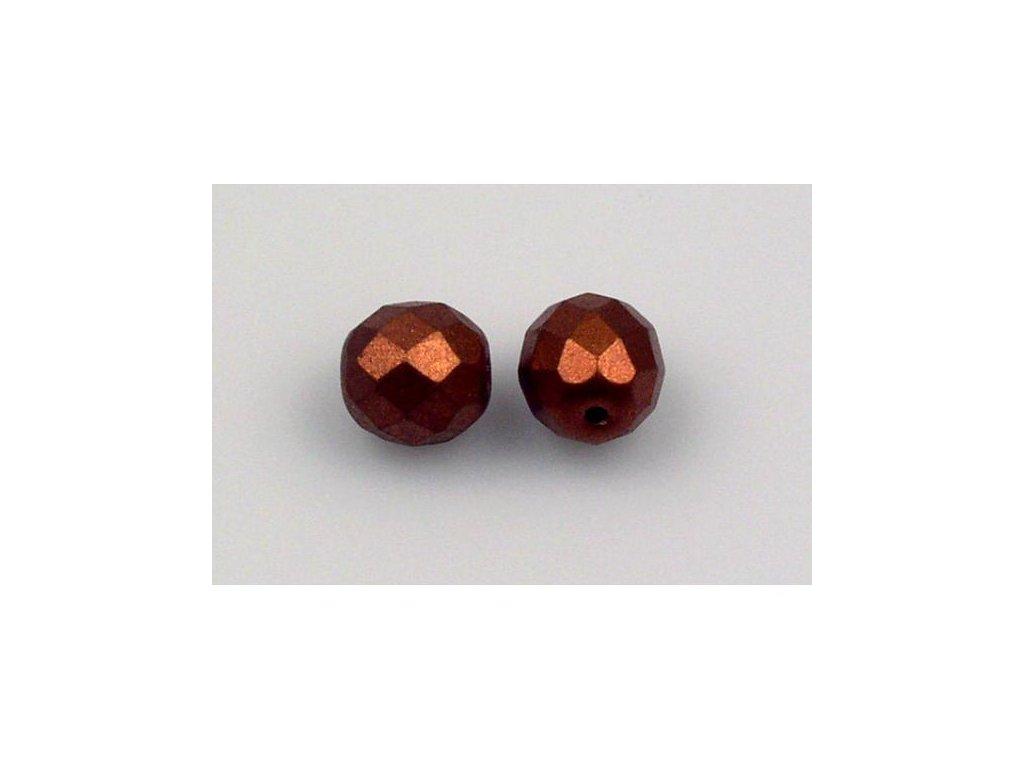 Broušené korálky - ohňovky 10 mm 03000/01750
