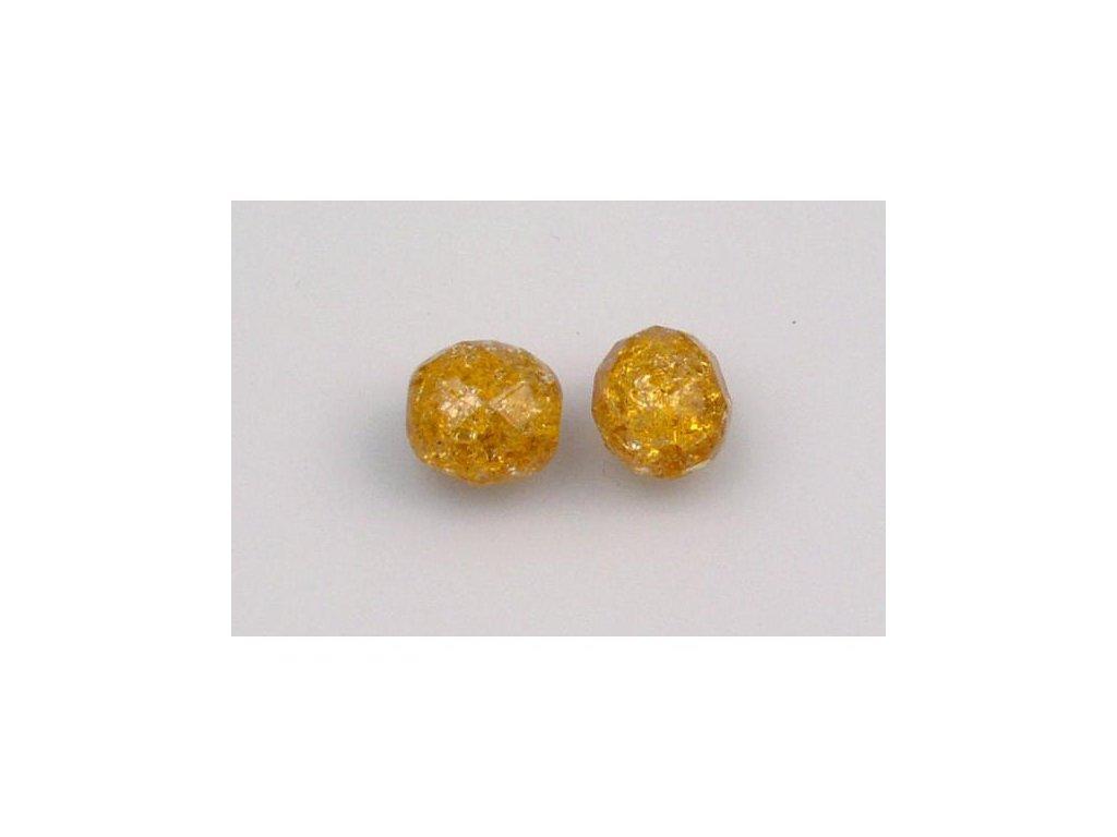 Práskané broušené korálky - 10 mm 10060/85500