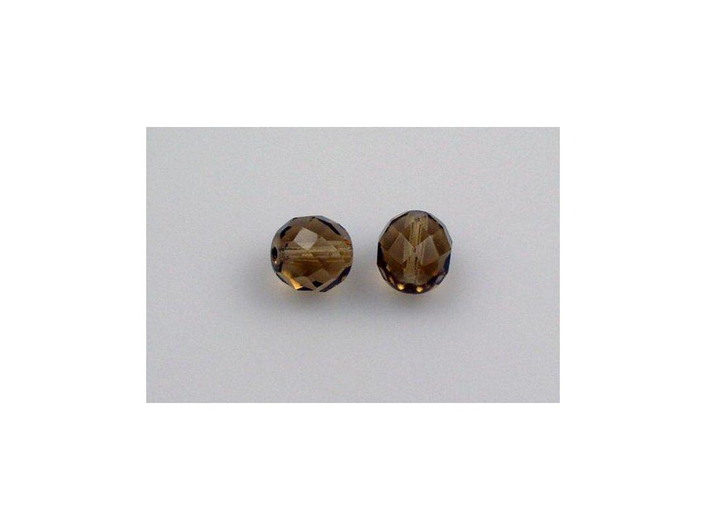 Broušené korálky - ohňovky 10 mm 10210