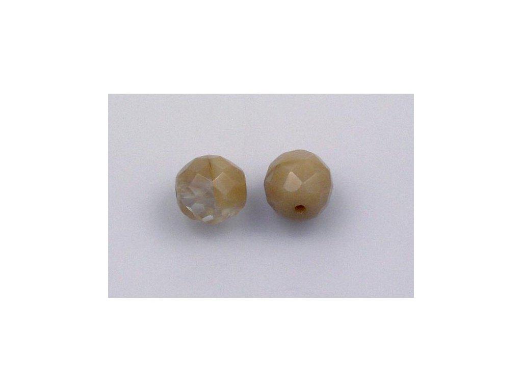 Broušené korálky - ohňovky 10 mm 16000