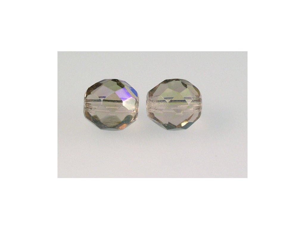 Broušené korálky - ohňovky 10 mm 20010/28701
