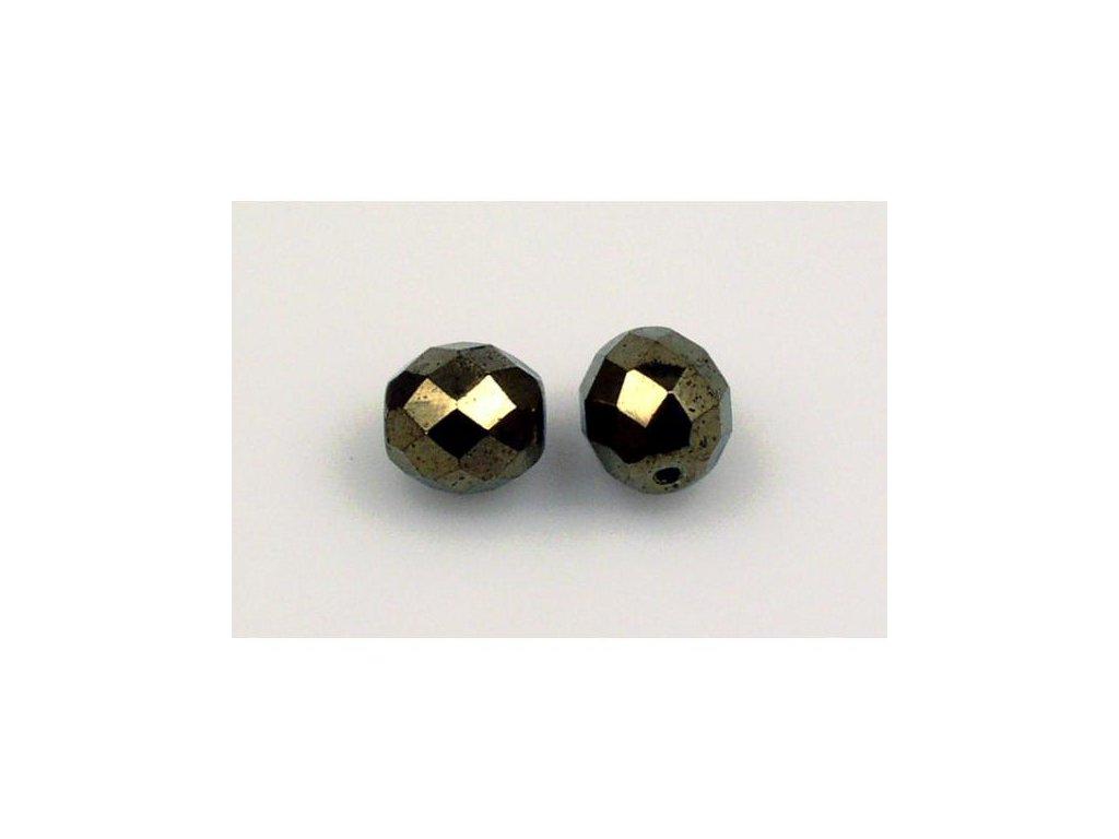 Broušené korálky - ohňovky 10 mm 23980/14485
