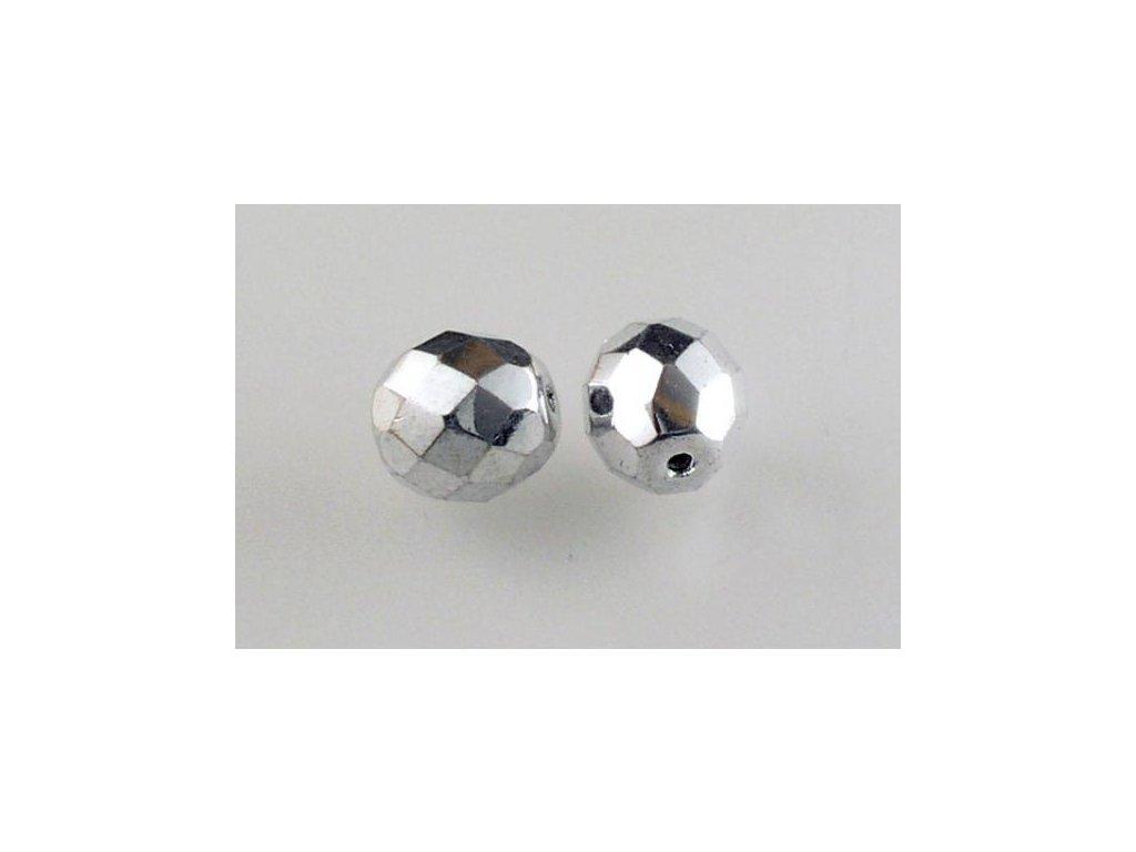 Broušené korálky - ohňovky 10 mm 23980/27000