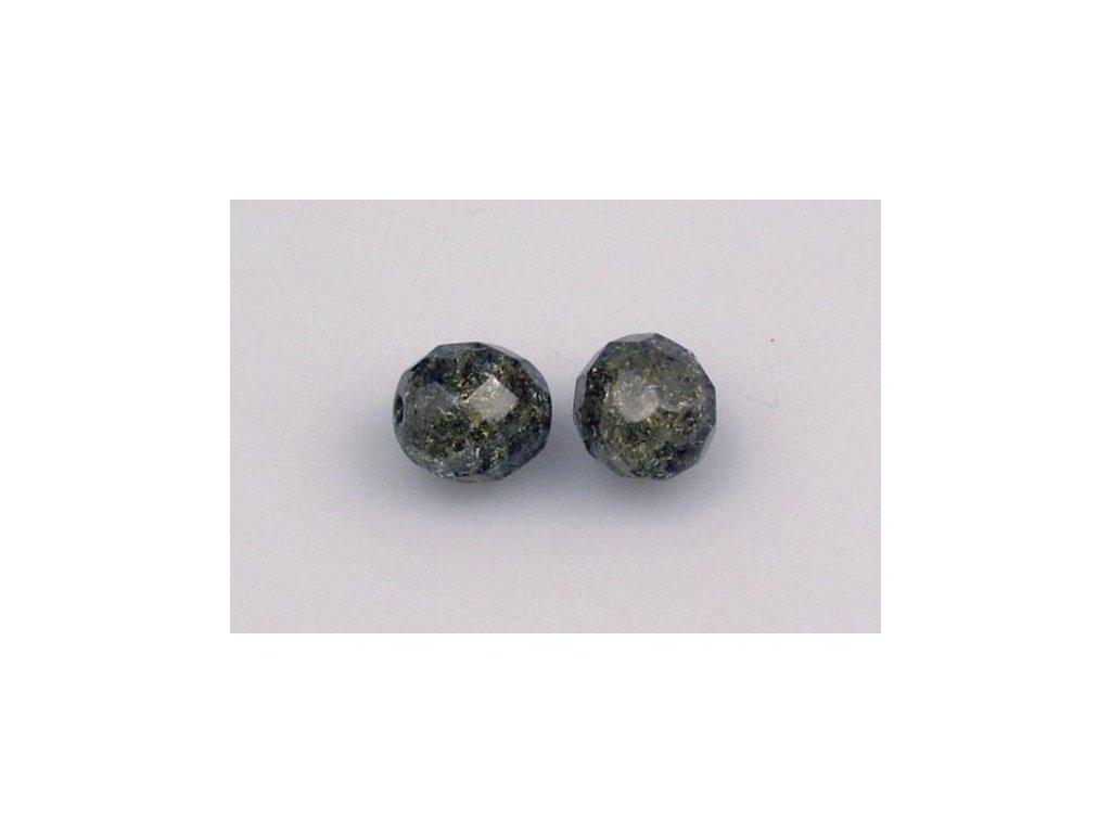 Práskané broušené korálky - 10 mm 40010/85500