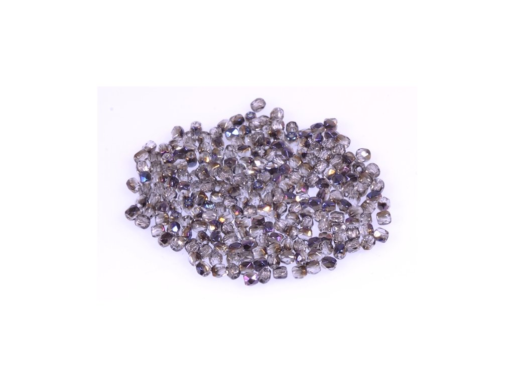 Broušené korálky - ohňovky 2 mm 00030/22201