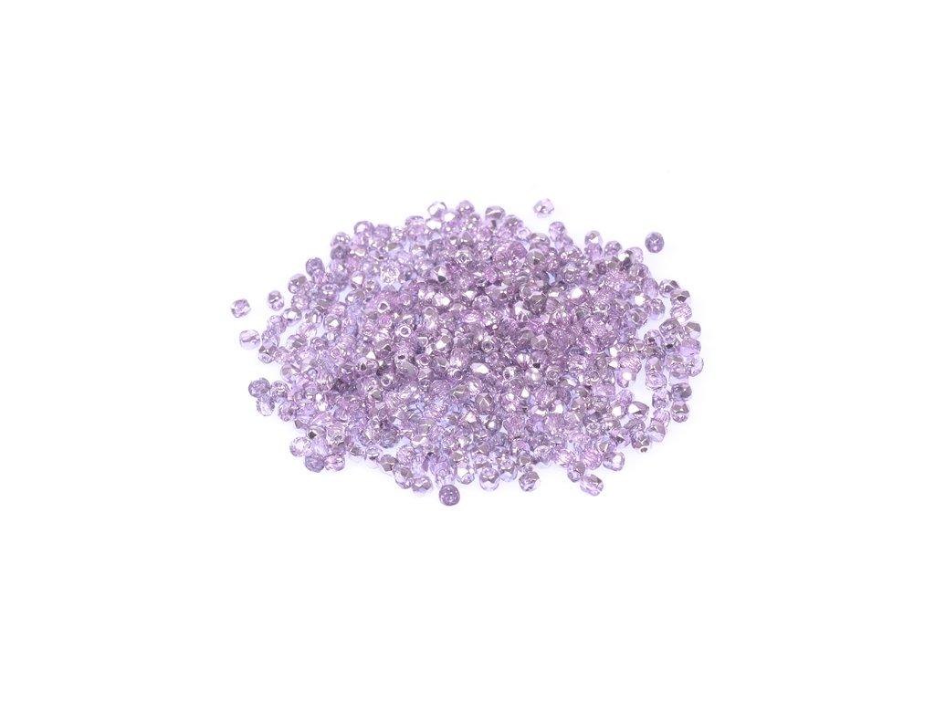 Broušené korálky - ohňovky 2 mm 00030/45216