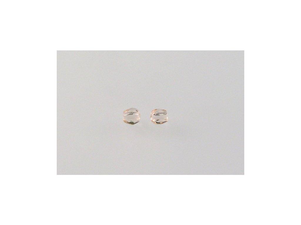 Broušené korálky - ohňovky 3 mm 70110