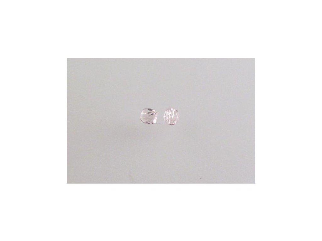 Broušené korálky - ohňovky 3 mm 70200