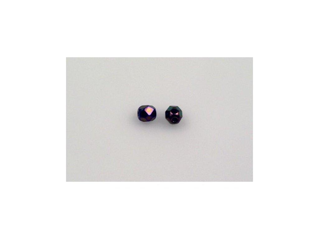 Broušené korálky - ohňovky 4 mm 23980/21495