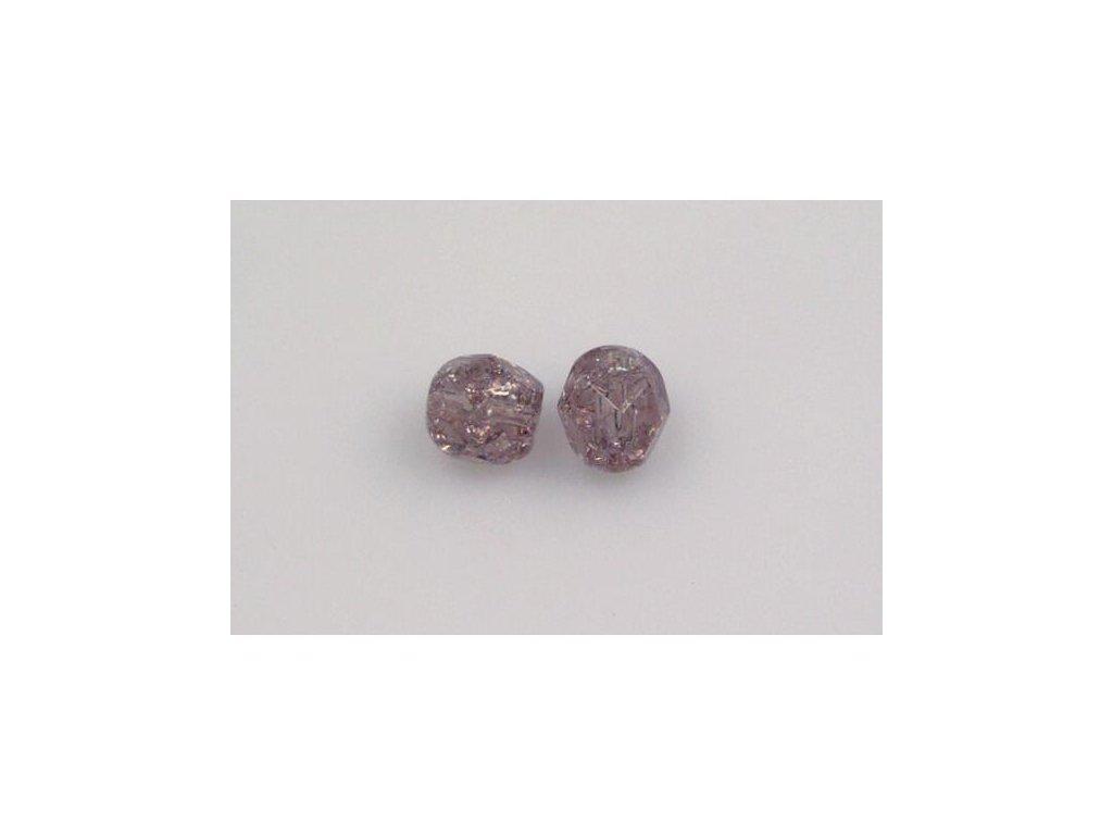 Práskané broušené korálky - 6 mm 20020/85500