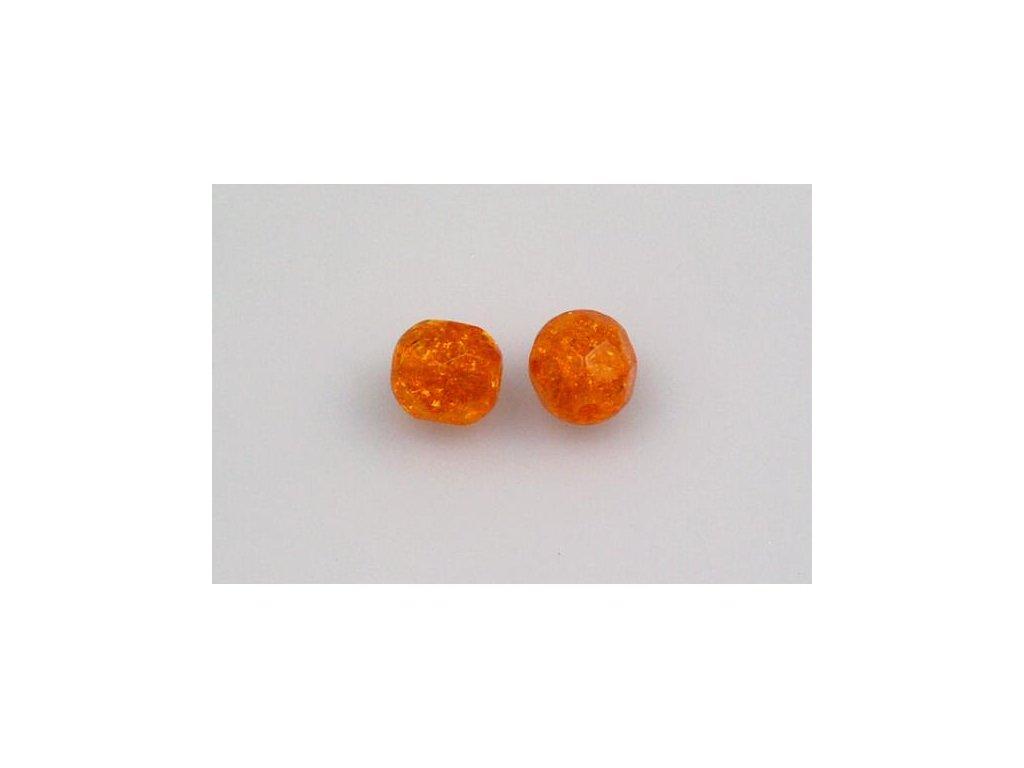 Práskané broušené korálky - 6 mm 90020/85500