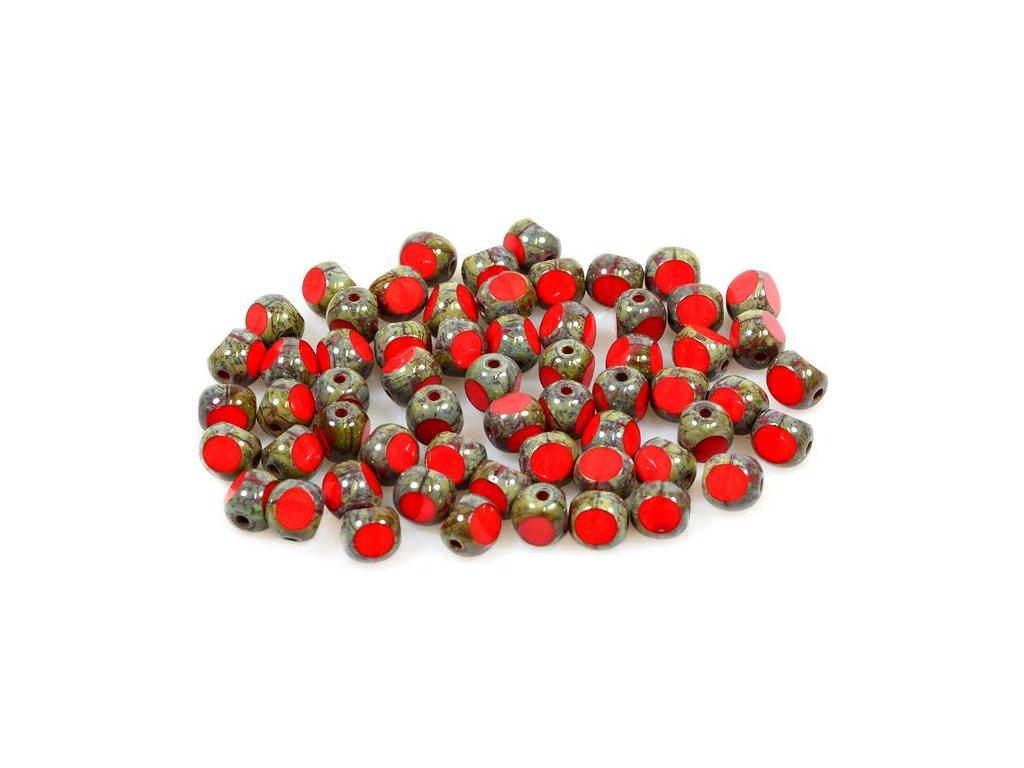 Broušené korálky tvarové 15119501 6 mm 93200/86800